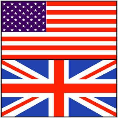englisch-amerikanisch